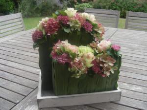 zelf bloemstukjes maken
